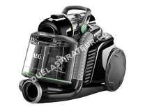 aspirateur AEG LX8-2-ÖKO - Aspirateur - traineau -  sac - noir ébénier/vert