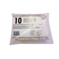 aspirateur BESTRON set de 10 sacs à poussière pour aspirateur  as1300s/ as1500sb d00011