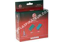 aspirateur HOOVER lot de 2 pads pour nettoyeur vapeur steamjet ssn1700