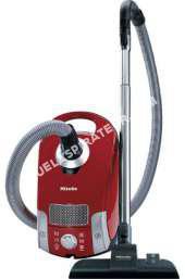aspirateur MIELE Aspirateur traîneau avec sac Compact C1 EcoLine - 550W - 79 dB - A+ - Rouge mangue