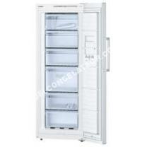congélateur BOSCH GSV29VW31 - Congélateur armoire - 198L - Froid statique - A++ - L 60cm x H 161cm - Blanc