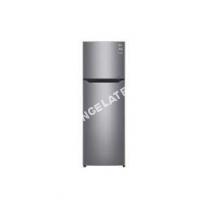 congélateur LG GT5525PS - Réfrigérateur congélateur haut - 254L (198+56) - Froid ventilé - A++ - L 55,6cm x H 166,5cm - Silver - Fabrique glaçe