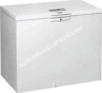 congelateur coffre whirlpool cong lateur coffre whe22333 moins cher. Black Bedroom Furniture Sets. Home Design Ideas