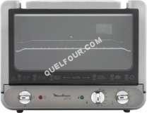four MOULINEX Uno XL OX173230 - Four électrique - 25.7 litres - 2200 Watt - argent/chrome
