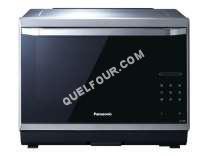 four PANASONIC NN-CS894S - Four micro-ondes combiné - grill - pose libre - 32 litres - 1000 Watt - acier inoxydable