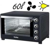 four Générique Four Multifonction Chaleur Tournante 60l 2200w Noir Oven 60l