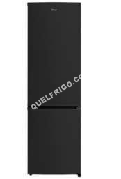 refrigerateur avec congelateur aya combin afc2800bknf noir moins cher. Black Bedroom Furniture Sets. Home Design Ideas