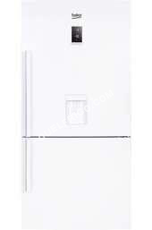 refrigerateur avec congelateur beko refrigerateur congelateur en bas bcn552dw moins cher. Black Bedroom Furniture Sets. Home Design Ideas