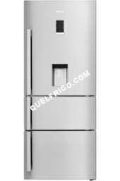 refrigerateur avec congelateur beko refrig rateur cong lateur en bas cn151930dx inox moins cher. Black Bedroom Furniture Sets. Home Design Ideas