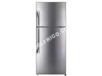 frigo DAEWOO Fnb394NS  Refrigerateur 2 portes  363 L 263L + 100 L  Froid ventile total  A+  L 68,9   170,5 cm  Silver