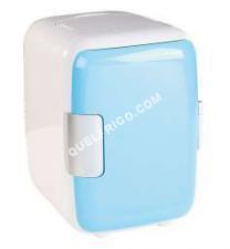frigo Générique Mini Frigo 4l 12v/240v Blanc/Bleu Fr10