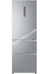 refrigerateur avec congelateur haier r frig rateur combin inox a3fe632csj moins cher. Black Bedroom Furniture Sets. Home Design Ideas