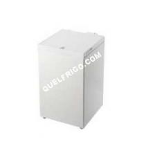 frigo INDESIT  Os 1a 100 - Congélateur - P Libre - Larur : 527 Cm - Profondeur : 569 Cm - Hauteur : 86 Cm - 100 Litres - Congélateur Coffre - Classe A+ - Blanc