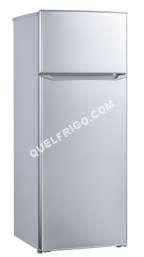 frigo VALBERG VALBERGRefrigerateur  2D 212 A+ SHOC silver