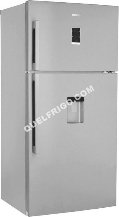 refrigerateur beko dn161220dx ustensiles de cuisine. Black Bedroom Furniture Sets. Home Design Ideas