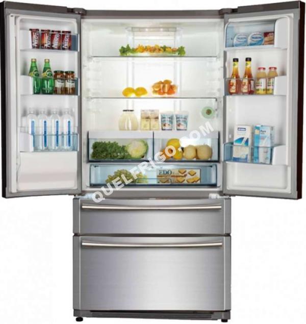 refrigerateur americainhaierhbfwrssaa