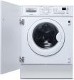 ELECTROLUX EWG12410W  Machine à laver  intégrable  largeur : 59.6 cm  profondeur : 54.4 cm  hauteur : 82 cm  chargement frontal  46 litres   kg  1200 tours/min  blanc lave-linge