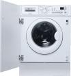 ELECTROLUX EWX12410W  Machine à laver séchante  intégrable  Niche  largeur : 60 cm  profondeur : 56 cm  hauteur : 82 cm  chargement frontal  46 litres   kg  1200 tours/min  blanc lave-linge