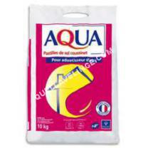 lave-linge Non communiqué AQUA Pastilles de sel pour adoucisseur eau  10Kg
