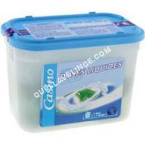 lave-linge Non communiqué Lessive en doses liquides  500   20 lavaes