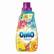 lave-linge   OMO Lessive coentrée Festival de Fruits / Fleurs d'été - 1,47L
