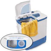 lave-linge TECTAKE Mini-machine à laver 4,5kg et essorer 3,5kg - Idéal camping et petites pièces