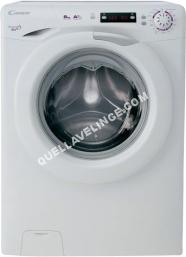 lave-linge CANDY EVO EVO44 122D  Machine à laver  pose libre  largeur : 60 cm  profondeur : 54 cm  hauteur : 5 cm  chargement frontal   kg  1200 tours/min  blanc