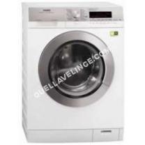 lave-linge AEG  LAVAMAT EXCLUSIV L89499FL2 - Machine à laver - pose libre - largeur : 60 cm - profondeur : 64 cm - hauteur : 85 cm - chargement frontal - 9 kg -...