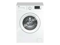 lave-linge BEKO WCV 512 BW0  Machine à laver  indépendant  largeur : 60 cm  profondeur : 54 cm  hauteur : 4 cm  chargement frontal  55 litres   kg  1000 tours/min  blanc