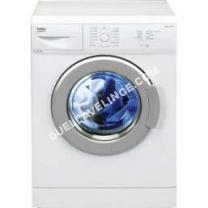 lave-linge BEKO WML1001Y  Machine à laver  indépendant  largeur : 0 cm  profondeur : 41.5 cm  hauteur : 84 cm  chargement frontal  39 litres   kg  1000 tours/min  blanc