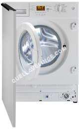 lave-linge BEKO WMI1441  Machine à laver  intégrable  Niche  largeur : 60 cm  profondeur : 5 cm  hauteur : 2 cm  chargement frontal   kg  1400 tours/min