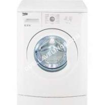 lave-linge BEKO  Lave-linge WB 10106 IT - Machine à laver - pose libre - largeur : 60 cm - profondeur : 50 cm - hauteur : 84 cm - chargement frontal - 6 kg - 1000