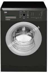 lave-linge BEKO  LLF07A1 - Machine à laver - pose libre - largeur : 60 cm - profondeur : 45 cm - hauteur : 84 cm - chargement frontal - 50 litres - 7 kg - 1200 tours/min - anthracite