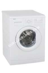 lave-linge BEKO  WMB 81421 M - Machine à laver - pose libre - largeur : 60 cm - profondeur : 54 cm - hauteur : 84 cm - chargement frontal - 55 litres - 8 kg - 1400 tours/min - bla