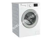lave-linge BEKO WTV712BS0W  Machine à laver  indépendant  largeur : 60 cm  profondeur : 5 cm  hauteur : 4 cm  chargement frontal  55 litres   kg  1400 tours/min  blanc