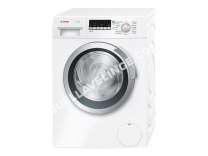 lave-linge BOSCH Serie  WLK2412FF  Slimline  machine à laver  pose libre  largeur : 59.8 cm  profondeur : 44. cm  hauteur : 84.8 cm  chargement frontal  4 litres   kg  1200 tours/min  blanc
