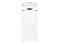 lave-linge BRANDT WTC1284F  Machine à laver  largeur : 40 cm  profondeur : 60 cm  hauteur : 8 cm  chargement par le dessus   kg  1200 tours/min  blanc