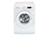 lave-linge BRANDT BWF4TWW  Machine à laver  pose libre  largeur : 59.5 cm  profondeur : 49.5 cm  hauteur : 85 cm  chargement frontal  50 litres   kg  1400 tours/min  blanc