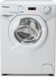 lave-linge CANDY AQUAMATIC Aqua 102 D1  Machine à laver  indépendant  largeur : 51 cm  profondeur :  cm  hauteur : 69.5 cm  chargement frontal  30 litres   kg  1000 toursmin  blanc