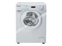 lave-linge CANDY AQUAMATIC Aqua 112D1  Machine à laver  indépendant  largeur : 51 cm  profondeur :  cm  hauteur : 69.5 cm  chargement frontal   kg  1100 tours/min  blanc