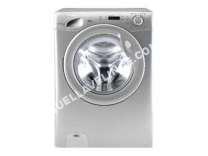 lave-linge CANDY  GrandO' Comfort GC 1292D2S - Machine à laver - pose libre - largeur : 60 cm - profondeur : 58 cm - hauteur : 85 cm - chargement frontal - 66 litres - 9 kg - 1200 tours/min - argenté(e)