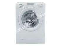 lave-linge CANDY  GrandÓ GOW338D - Machine à laver séchante - pose libre - largeur : 60 cm - profondeur : 54 cm - hauteur : 85 cm - chargement frontal - 8 kg - 1400 tours/min - bla