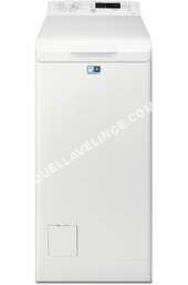 lave-linge ELECTROLUX Lave linge ouverture dessus Electrolux EWT1274EWS