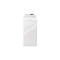 lave-linge ELECTROLUX EWT100SSW  Machine à laver  indépendant  largeur : 40 cm  profondeur : 0 cm  hauteur : 85 cm  chargement par le dessus  42 litres   kg  1000 tours/min