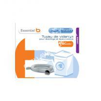 lave-linge ESSENTIEL B Tuyau vidange de 0.50 à 2.5 m