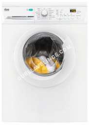 lave-linge FAURE FWF125PW  Machine à laver  indépendant  largeur : 60 cm  profondeur : 55.9 cm  hauteur : 85 cm  chargement frontal  53 litres   kg  1200 tours/min
