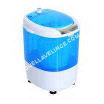lave-linge HOMCOM Mini machine  laver 170  fonctions lavage essorage avec minuterie