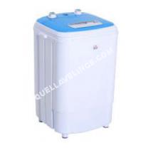 lave linge compact homcom mini machine laver 250 w fotions lavage essorage avec minuterie bleu. Black Bedroom Furniture Sets. Home Design Ideas