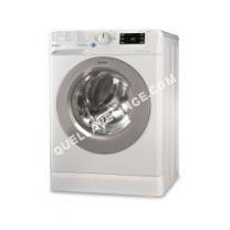 lave-linge INDESIT Lave-Linge Frontal 60cm 7kg 1200t A+++ Blanc/Silver Bwe71253xwssfr1