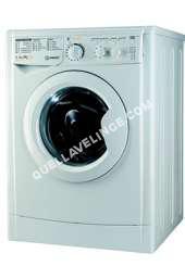 lave-linge INDESIT Lave linge ouverture hublot séchant  EDC 6145  FR